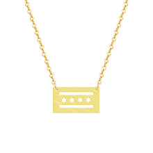 Load image into Gallery viewer, Chicago Flag Necklaces & Pendants