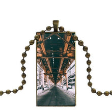 Load image into Gallery viewer, Fashion Necklace - Rectangle Shape Jewelry