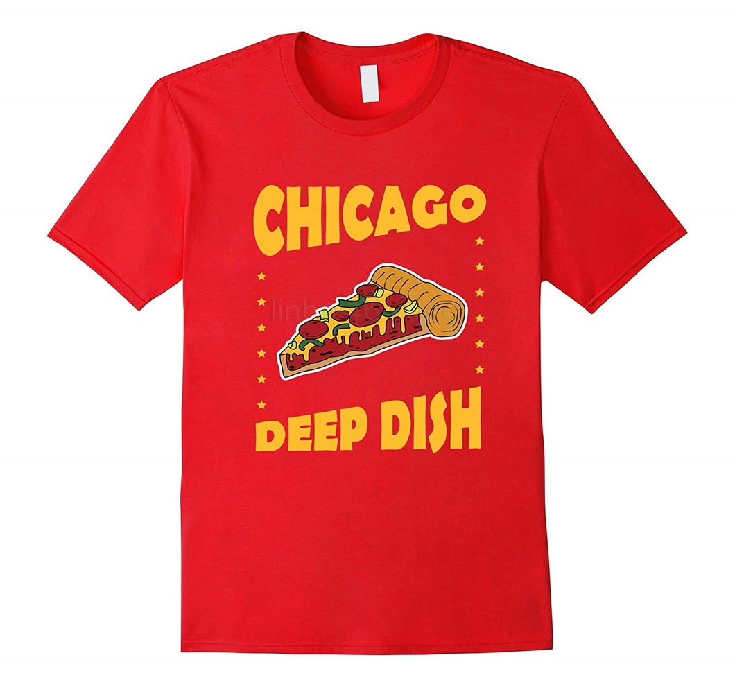 Chicago Deep Dish Pizza T-Shirt