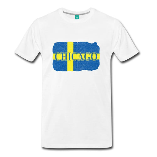 Chicago Swedish Flag T-Shirt