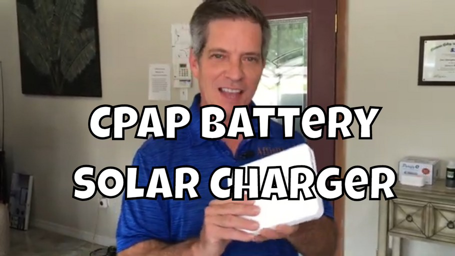 Mini CPAP Battery with Solar Charger by Zopec