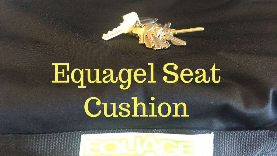 EquaGel Seat Cushion For Wheelchair [Also Great For Office Chair And Trucker Seat]