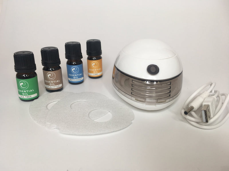 Essential Oil Diffuser and Aromatherapy Kit Portable $19