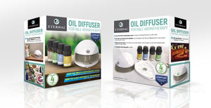 Essential Oil Diffuser and Aromatherapy Kit