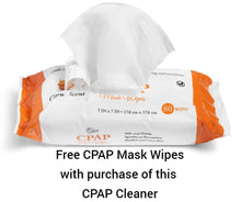 Load image into Gallery viewer, SoClean 2 CPAP Cleaner System & Free Mask Wipes