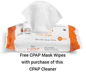 SoClean 2 CPAP Cleaner System & Free Mask Wipes