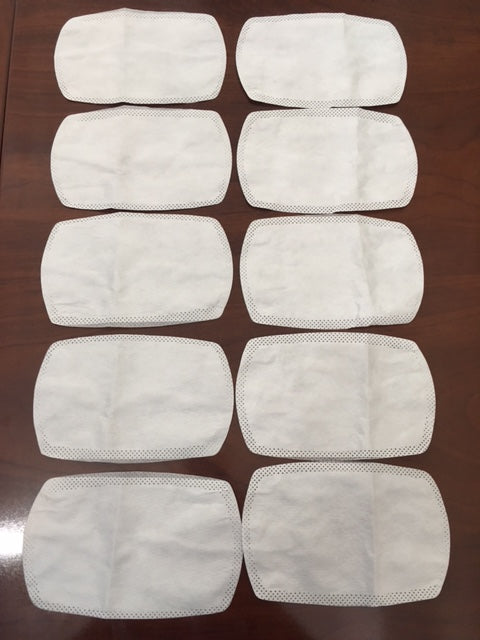 Disposable Filters for Cloth Face Covering Mask