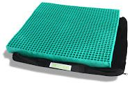EquaGel Protector Wheelchair Cushion [2 1/2