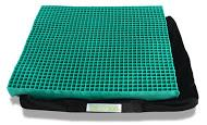 EquaGel Straight Comfort Wheelchair Cushion [1 3/4