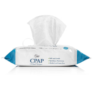 CPAP Mask Wipes 3B Unscented With Aloe 80 Wipes Per Pack
