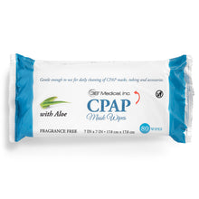 Load image into Gallery viewer, CPAP Mask Wipes 3B Unscented With Aloe 80 Wipes Per Pack