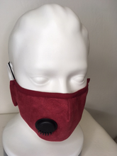 Load image into Gallery viewer, Cloth Face Covering Mask with Adjustable Straps and Disposable Filters