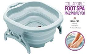 Collapsible Foot Massage Tub & Pedicure Spa