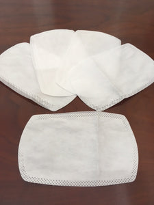 Cloth Face Covering Mask with Adjustable Straps and Disposable Filters