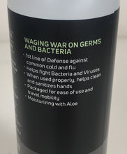 Load image into Gallery viewer, Germ War Hand Sanitizer 62% Ethanol