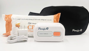 Purify O3 Portable CPAP Cleaning System & Free Mask Wipes
