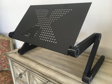 Load image into Gallery viewer, Folding Adjustable Laptop Desk Bed Tray