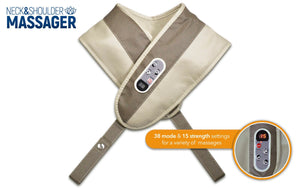 Neck and Shoulder Massager Percussive Pulse Action