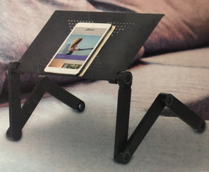 laptop desk tray folding adjustable