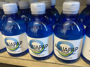 distilled water for travel cpap