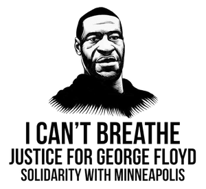 Justice for George Floyd - BLM fist