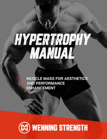 Hypertrophy Manual Training Manual Wenning Strength