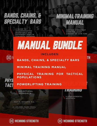 Manual Bundle Training Manual Wenning Strength