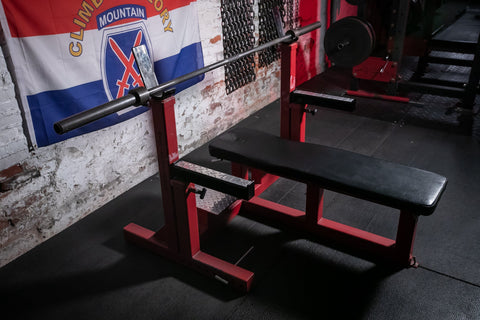 Matt Wenning's Competition Bench
