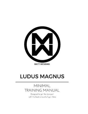 Minimal Training Manual