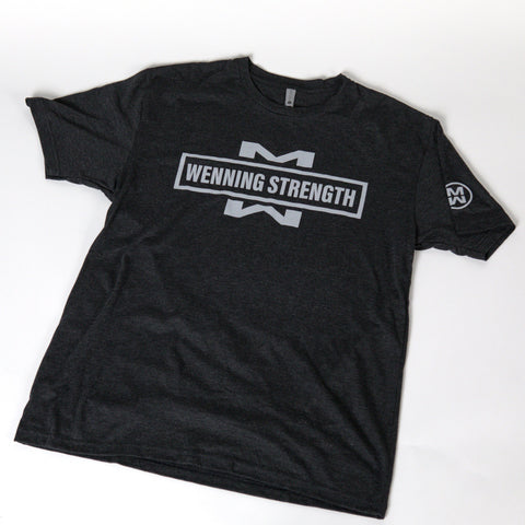 NEW | MW WENNING STRENGTH TEE - BLACK T-Shirt Wenning Apparel