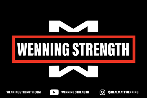 Wenning Strength Banner Equipment Wenning Strength