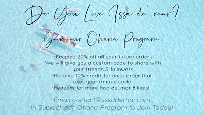 Join our ohana Affiliate program