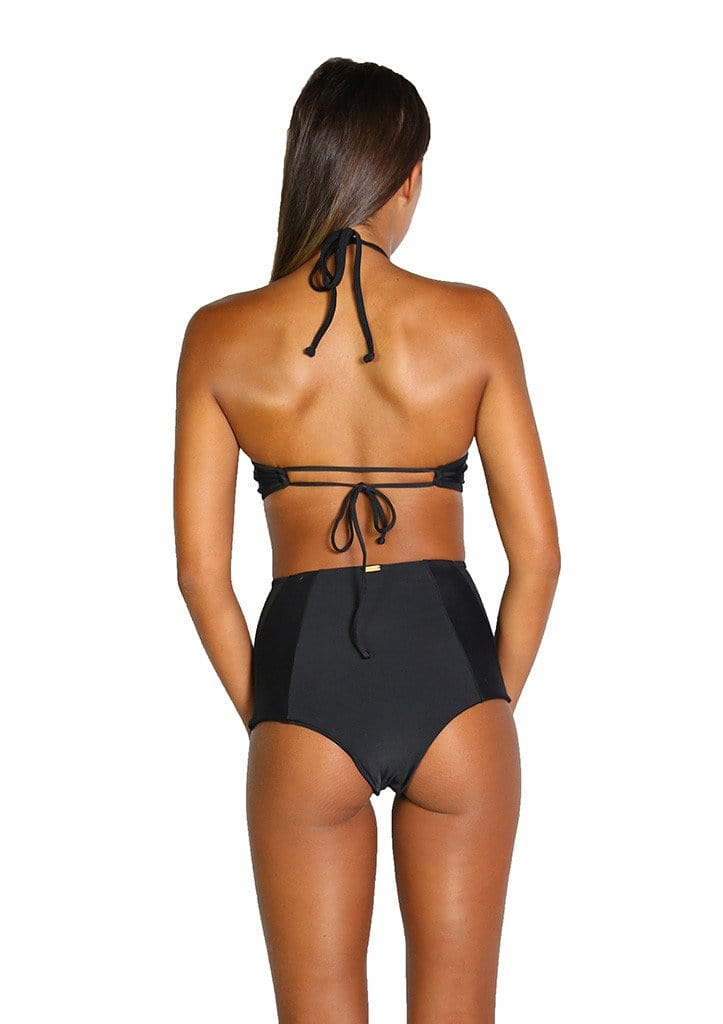 Harper Bottom Black Mesh