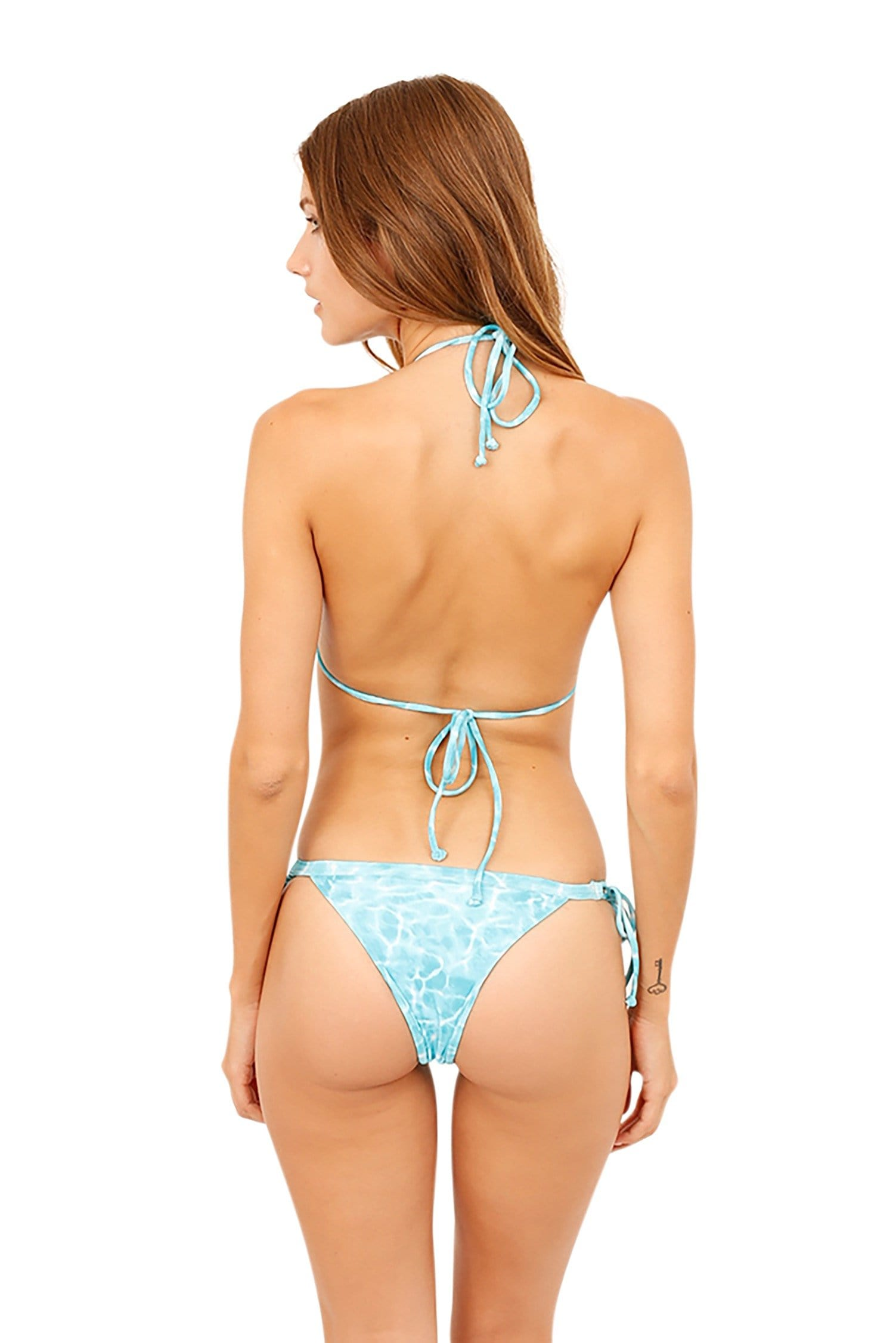 Leila Bottom Aqua