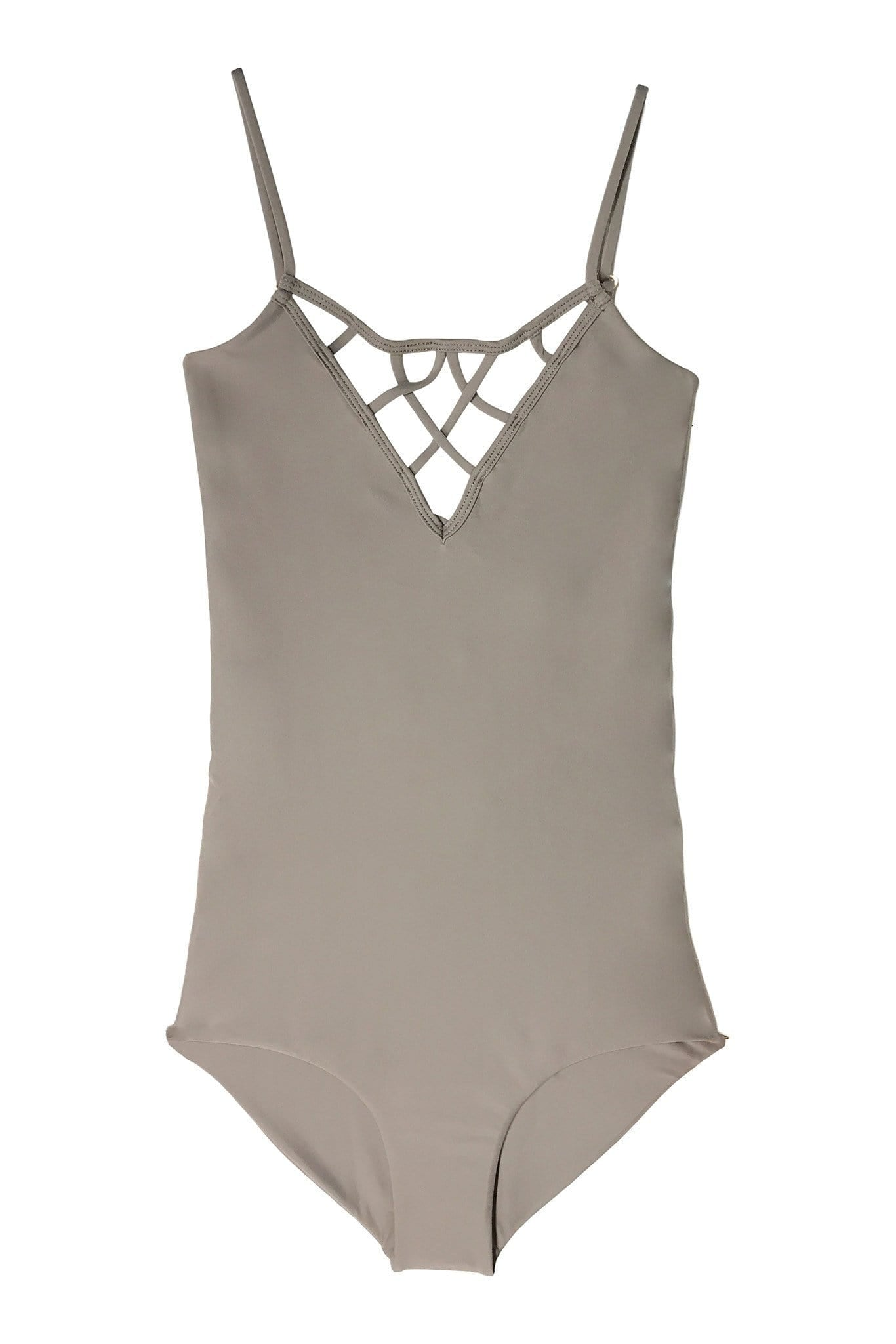 SAO PAULO ONE PIECE FULL CUT MINX BROWN