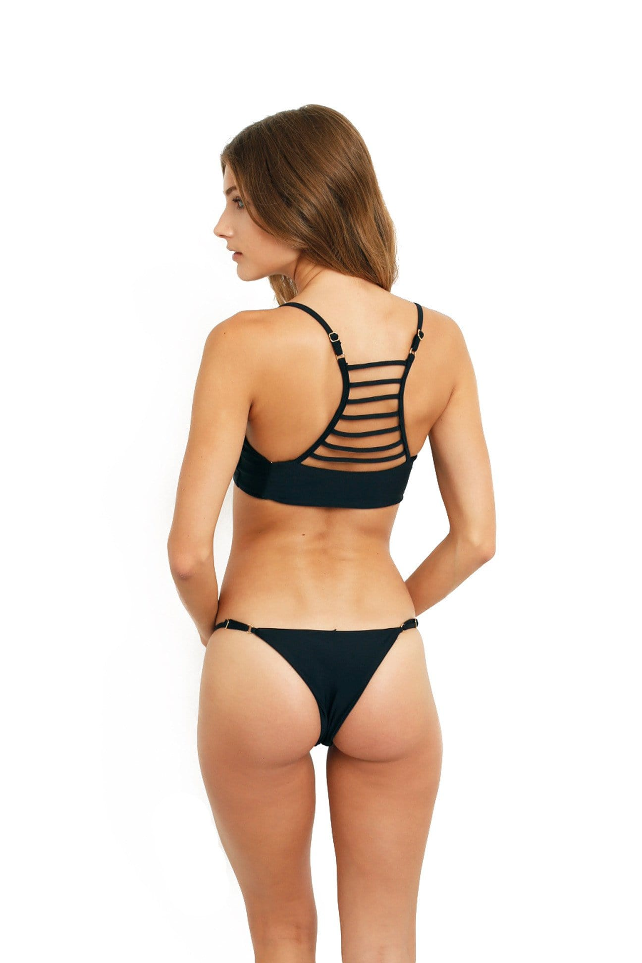 BONDI BOTTOM BLACK SWIM