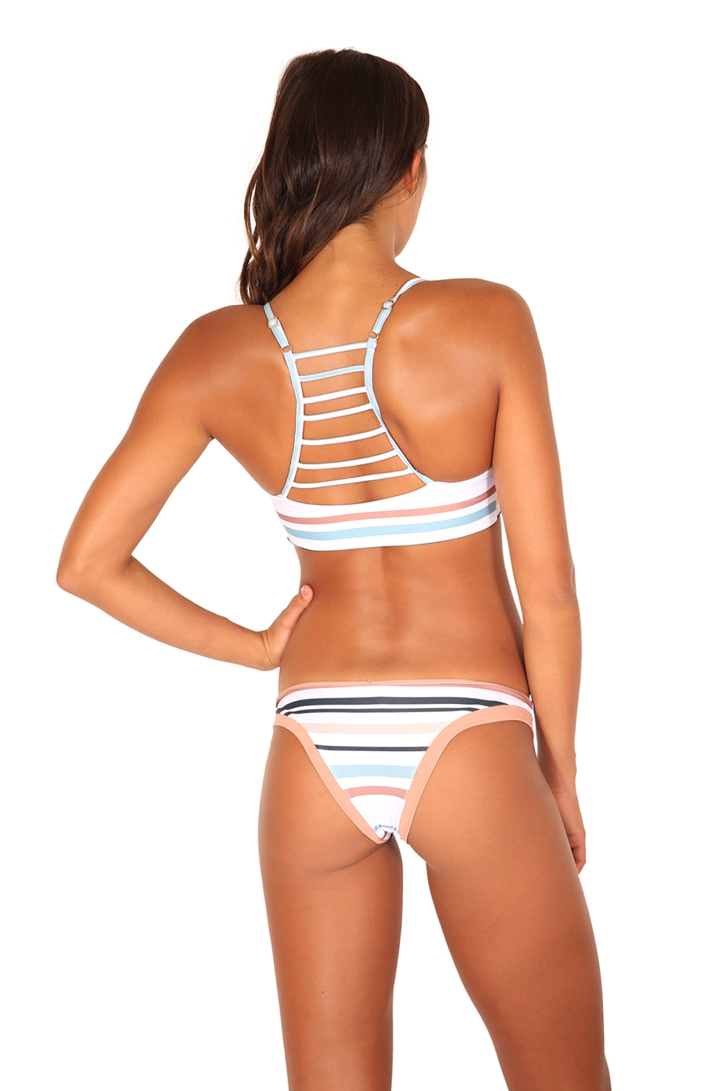 BONDI TOP RIVIERA STRIPE