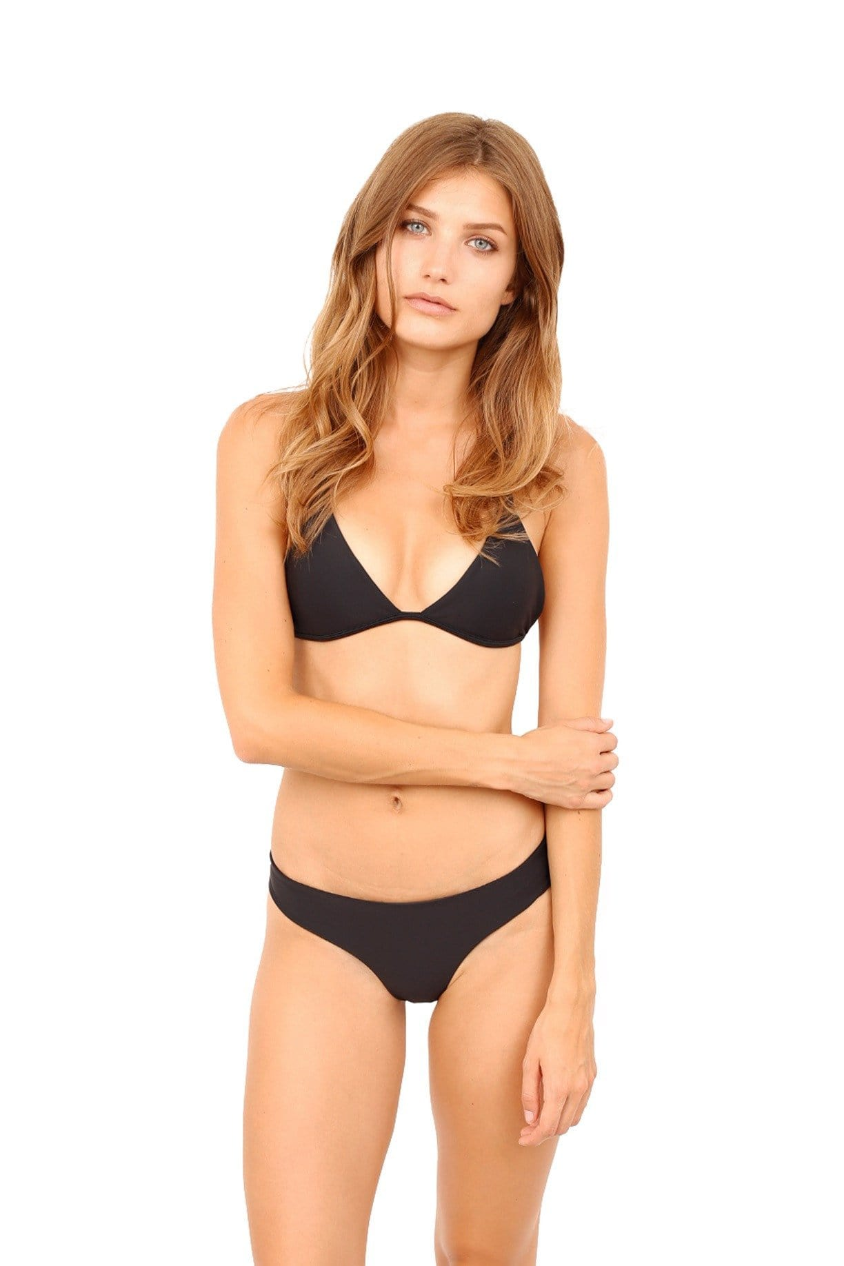 Maya Btm (Full Cut) BLACK SWIM