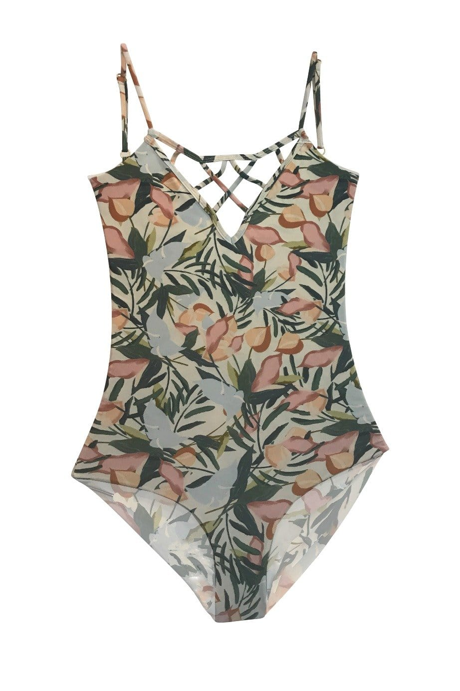 *Sale* Sao Paulo One Piece Full Vintage Floral Was $168