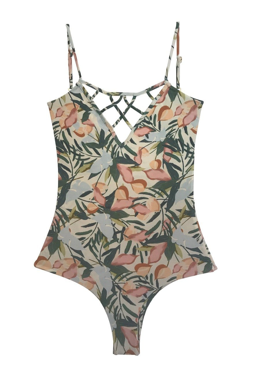 Sale Sao Paulo One Piece Cheeky Vintage Floral