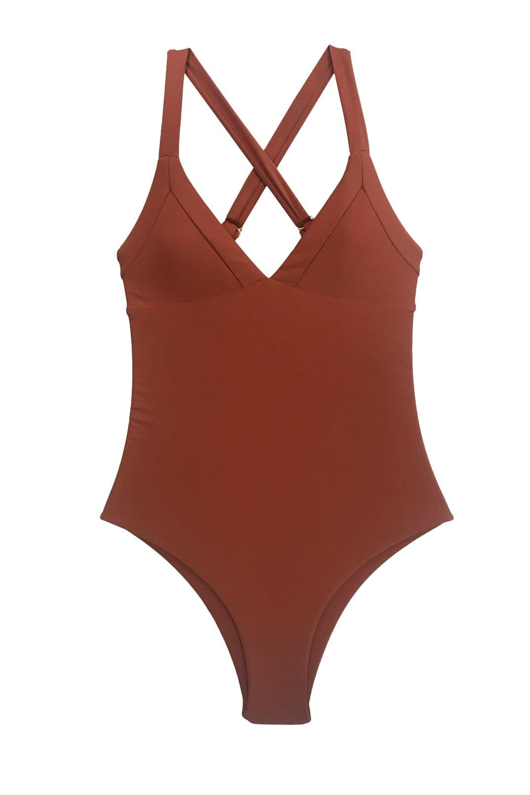 Kailua One Piece Cheeky Ginger