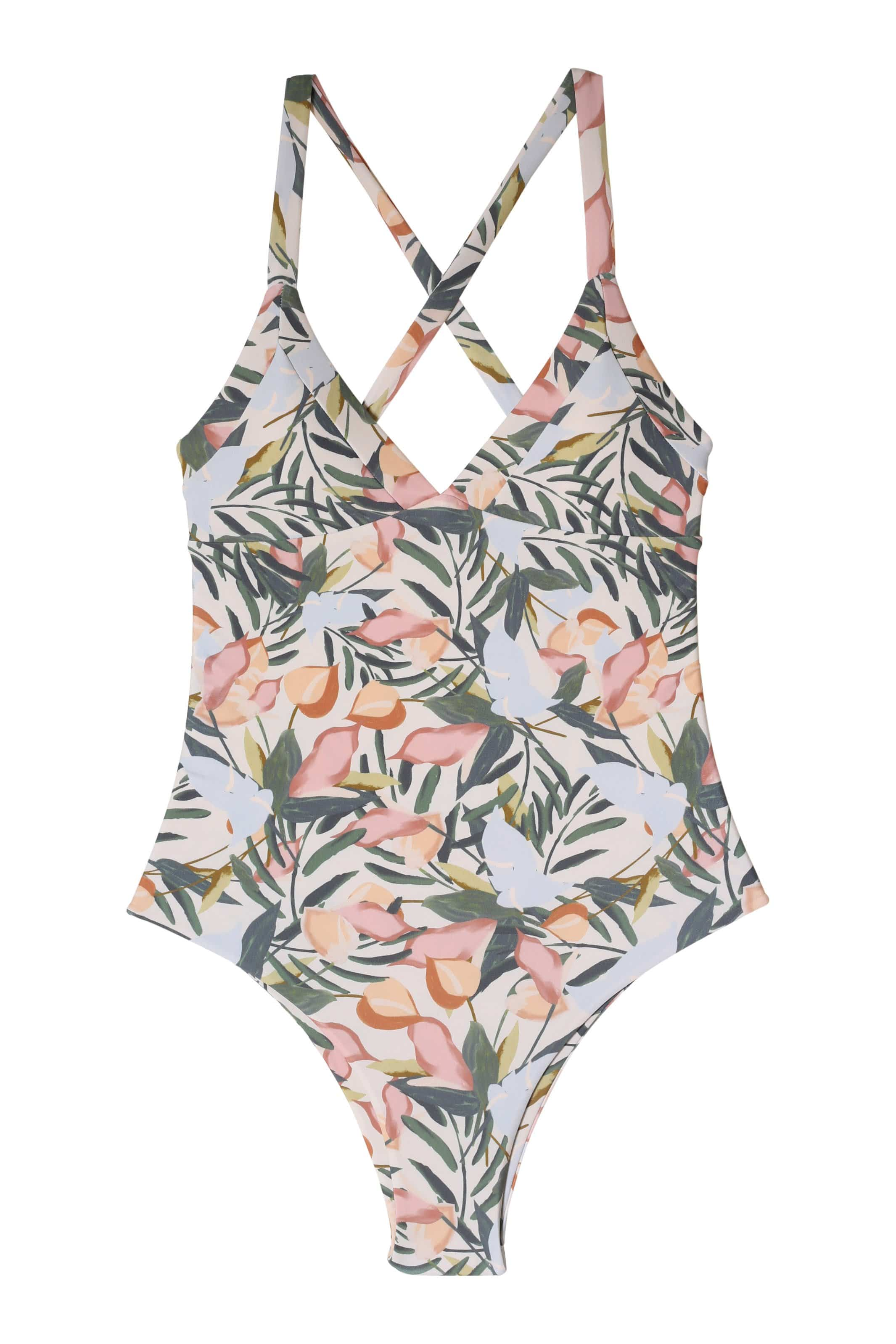 Sale Kailua One Piece Cheeky Coverage Vintage Floral