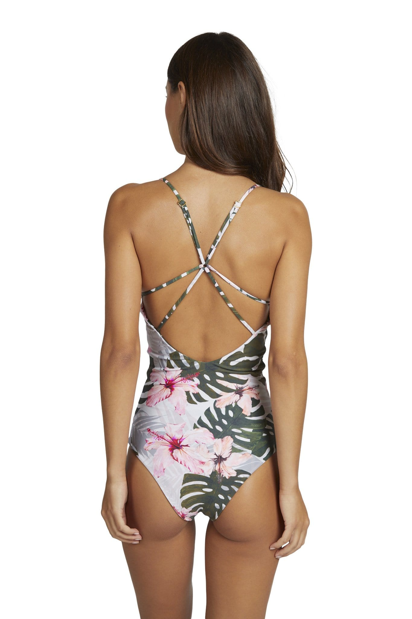 Kailani One Piece Cheeky Coverage Cowry Shell