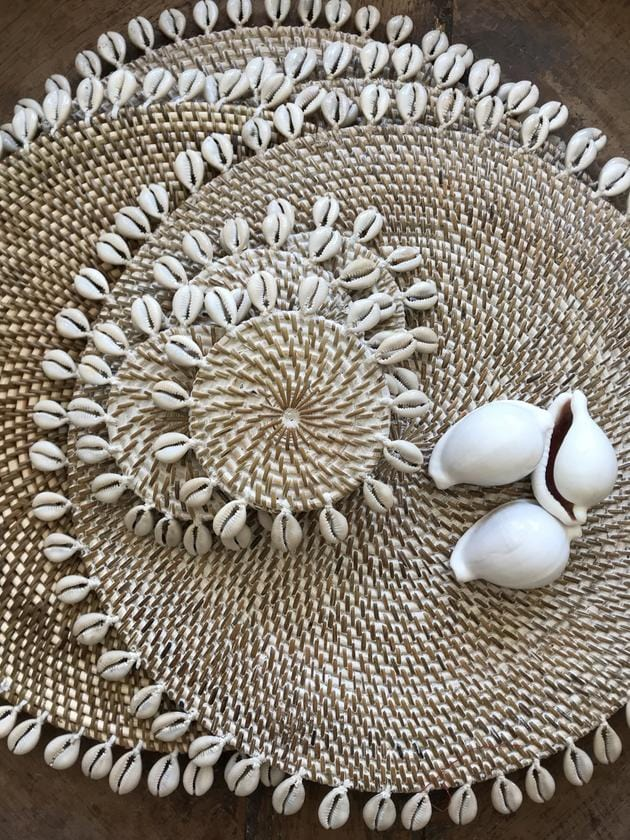 Cowry Shell Placemat