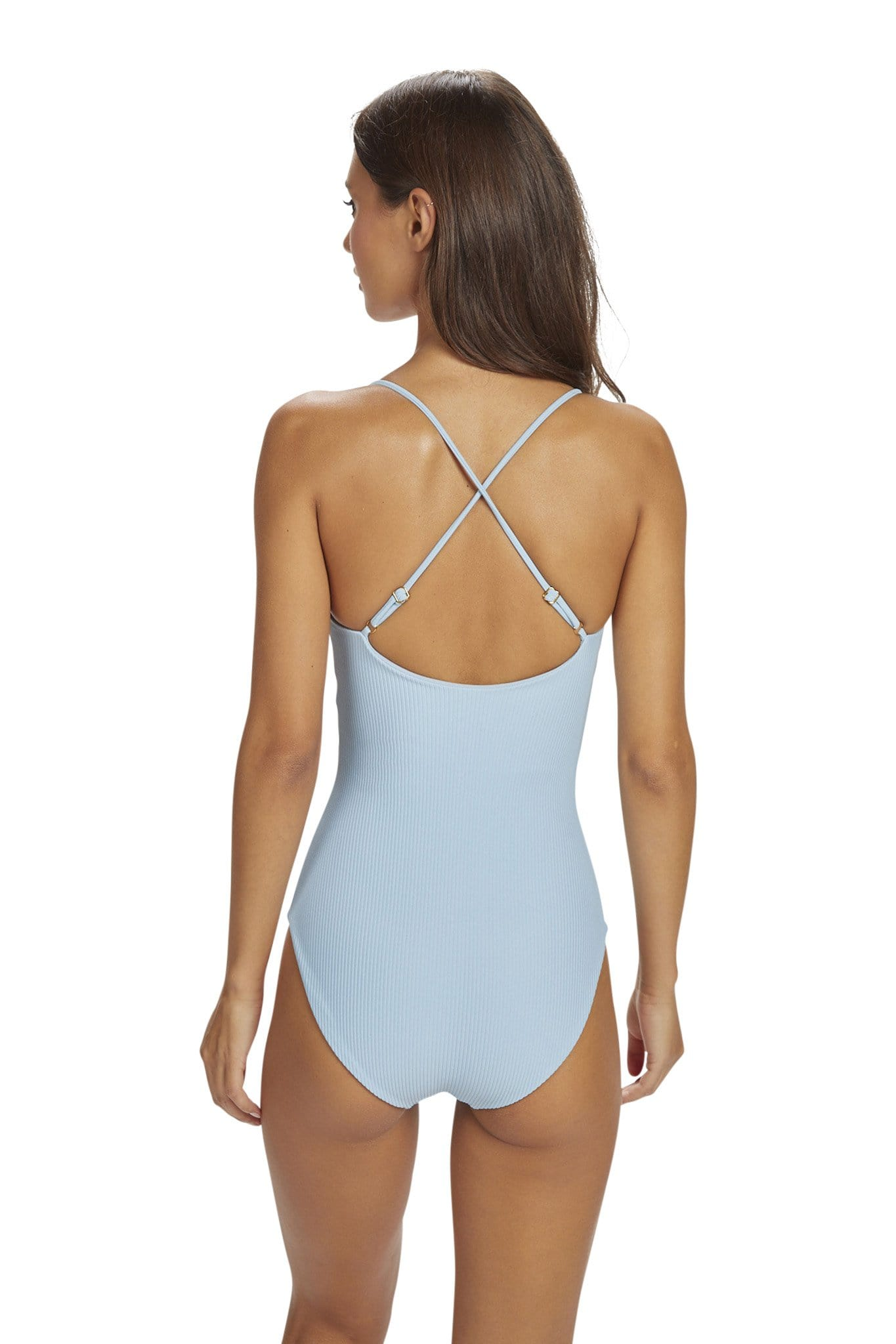 *Sale* Lehua One Piece Full Coverage Hibiscus