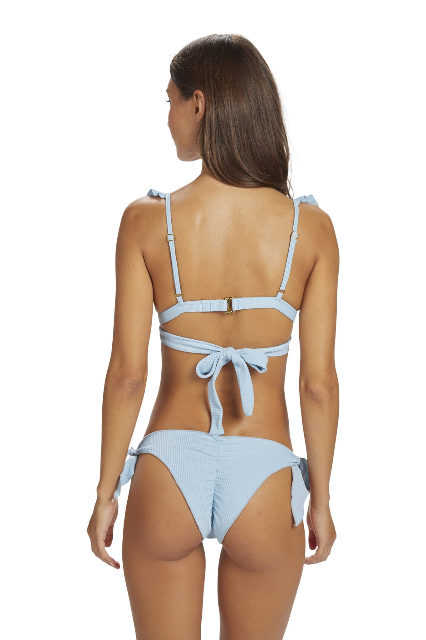 *Sale* Lanai Bottom Baby Blue Rib was $76