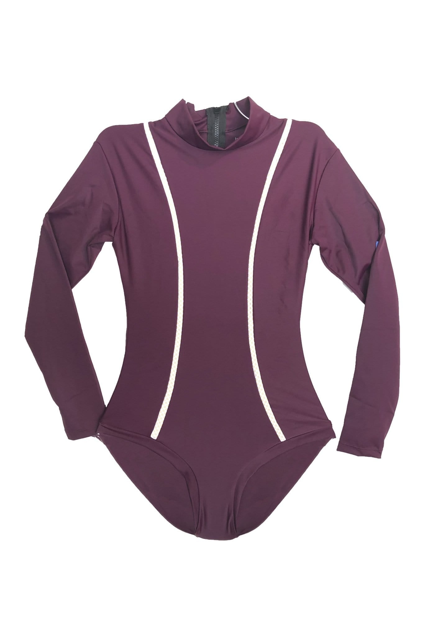 *Sale* Makena Surf Suit Full Coverage Sangria