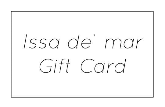 Issa de' mar Gift Card