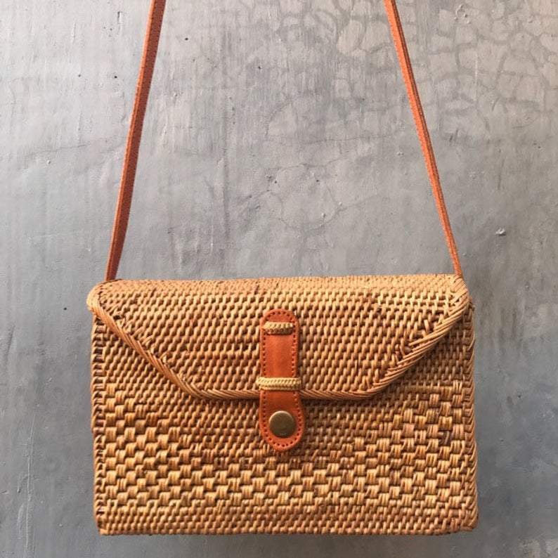 Rattan Bag Rectangle