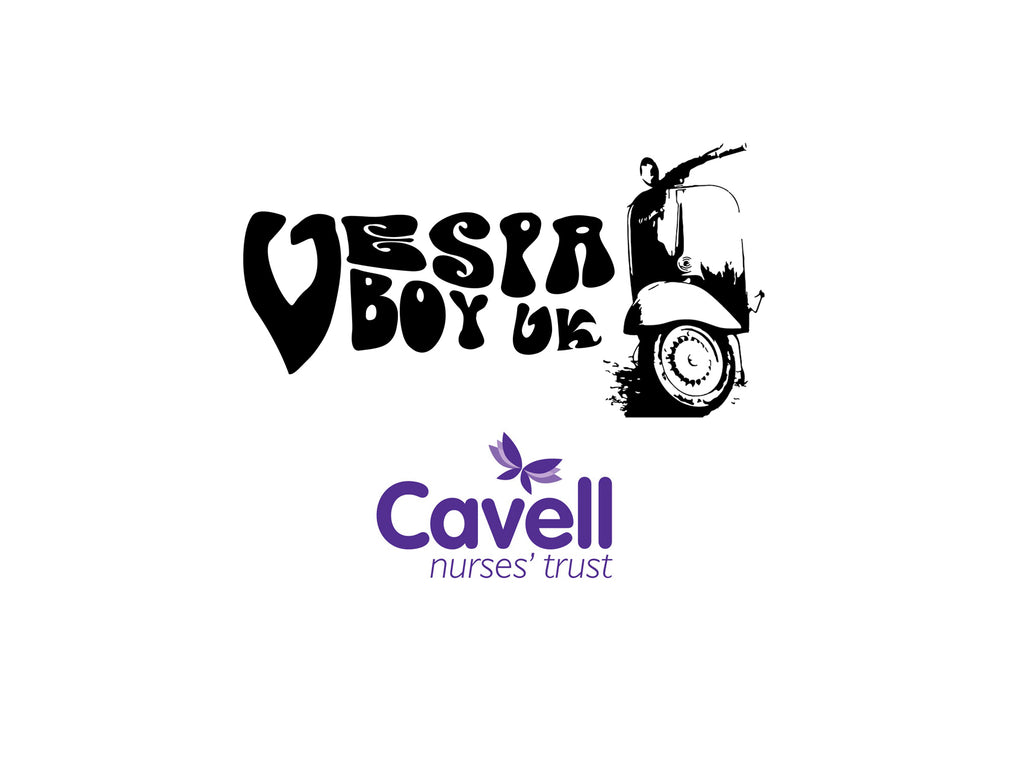 Vespa Boy UK's T-Shirt Fundraiser Raised over £250 for Nurses and Carers!